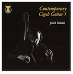 NIEUW! !  CONTEMPORARY CZECH GUITAR 1 - JOSEF MAZAN